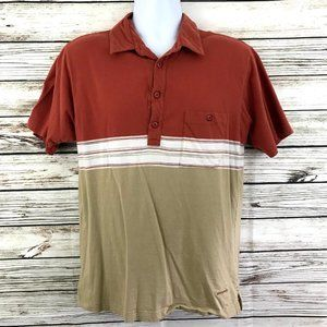 Patagonia Casual Outdoor Striped Polo Shirt